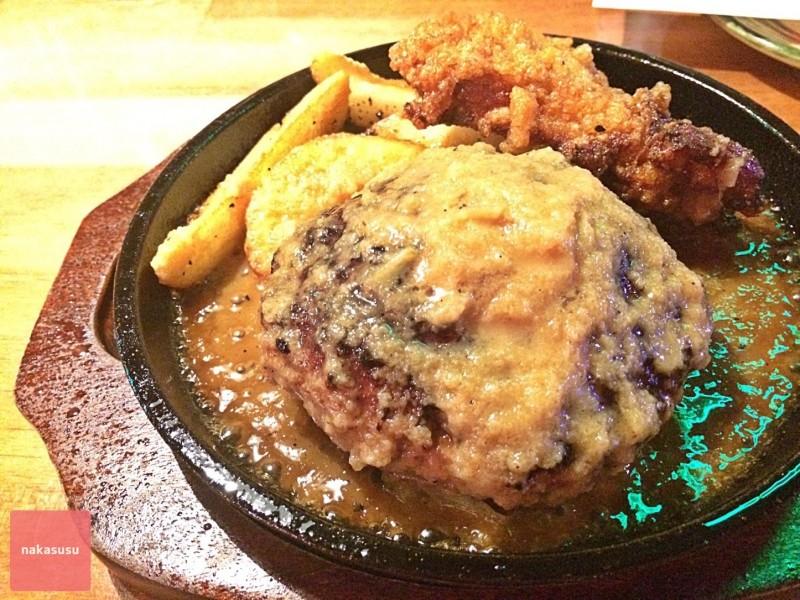 異国のパブに来たようなお店 Oldies Dinner 「BUMPKIN」