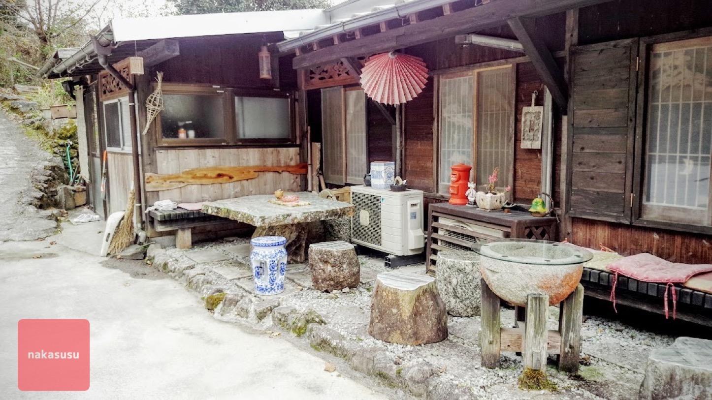 本耶馬渓町の癒し系Cafe「門前茶屋のどか。」に行こう✩