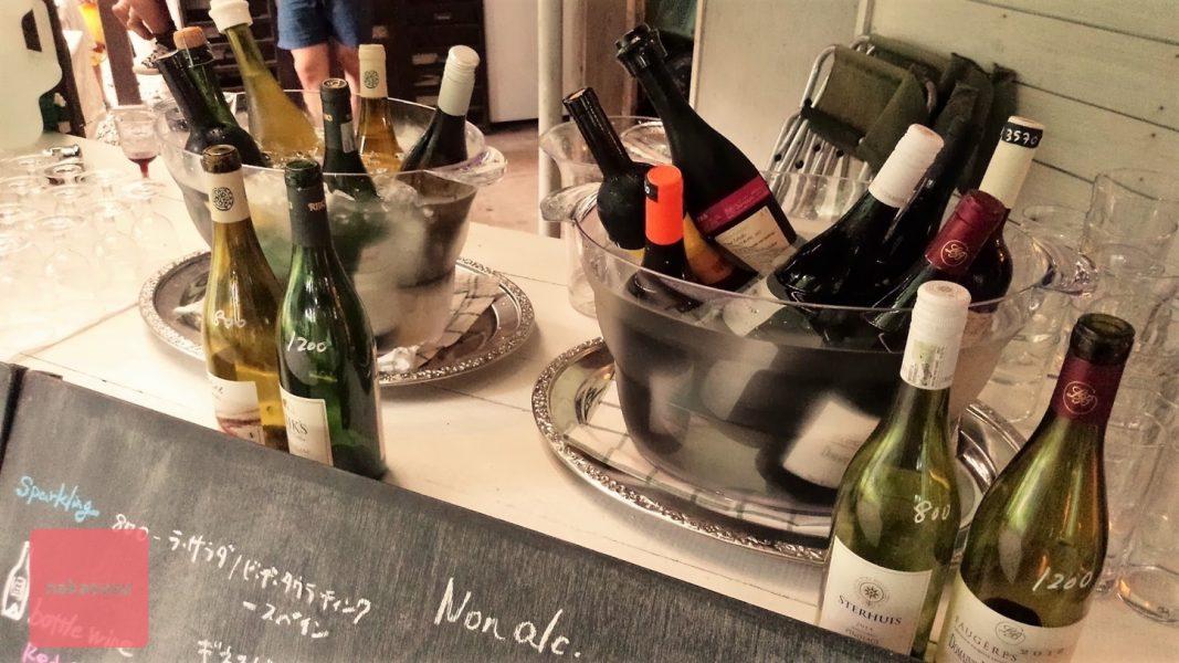 バルンバルンの森にある「亜細亜食堂cago」で「cago wine stand  vol.1」に参加してきました